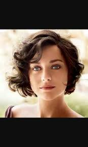 short hairstyles for women with wavy hair carly pinterest