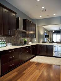 Dark Cabinets With Light Floors Fancy Dark Kitchen Cabinets With Light Floors M39 On Decorating