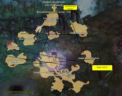 Tos Map Shaton Reservoir U0026 2nd Demon Prison Maps Game Tips And