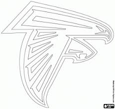 nfl team coloring pages atlanta coloring pages