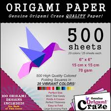 Quality Sheets Amazon Com Origami Paper 500 Sheets Premium Quality For Arts And