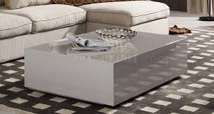 light grey coffee table coffee table in light grey high gloss by j m furniture