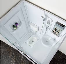 All In One Bathtub And Shower Cheap But High Quality Bathroom Prefab Modular Bathroom Units