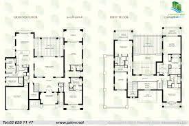 Villa Floor Plans by 4 Bedroom Villa Floor Plans U2013 Home Ideas Decor