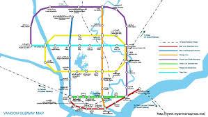 Sydney Subway Map by Yangon Subway System Skyscrapercity