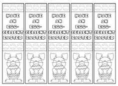 printable easter bookmarks to colour printable easter bookmarks merry christmas and happy new year 2018
