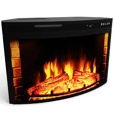 Electric Fireplace Insert Elite 28 Inch Curved Electric Fireplace Insert