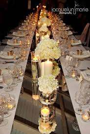 wedding table ideas mirror runner centerpiece idea 30 pretty wedding table runner