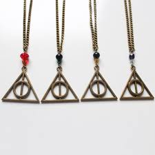 harry potter necklace images Deathly hallows harry potter necklace divine et f minine jpg