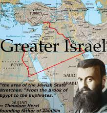 Mideast Map The Greater Israel Project A Zionist Scheme To Transform The