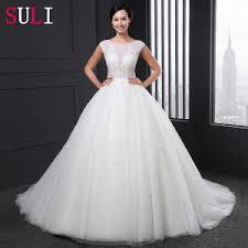 a line princess wedding dress china luxury beaded scoop neck a line simple white princess