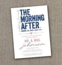 brunch invites at last after wedding brunch invitations in gray or