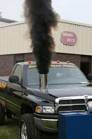 dodge cummins with stacks diesel truck exhaust systems for ford gm and dodge