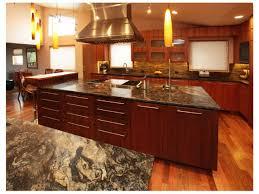 kitchen island with hibachi grill