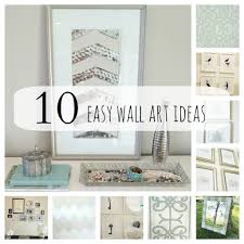 art easy diy girly wall art frames and decorative posters ideas