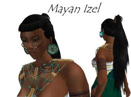 aztec hair style second life marketplace maya izel hairstyle maya aztec inca