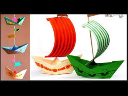 How To Make Boat From Paper - how to make a paper bo origami 3d gifts