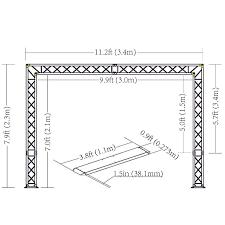 dj lighting truss package chauvet dj show maker 250