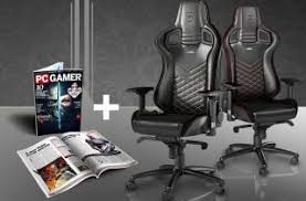 Are Gaming Chairs Worth It Win A Year U0027s Subscription To Pc Gamer And A Luxury Gaming Chair