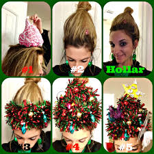 christmas tree fro holiday hair how to leigh leigh speaks