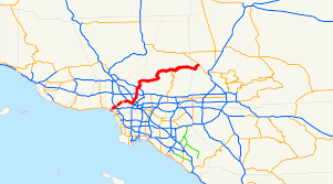 Los Angeles Gang Map by California State Route 2 Wikipedia