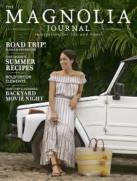 joanna gaines reveals summer issue of magnolia journal