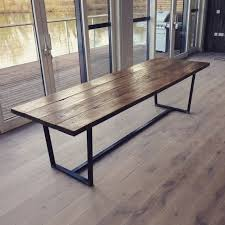 make a dining room table from reclaimed wood 16 best images about dining room table bench on pinterest