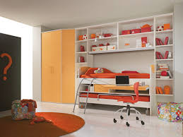 Bunk Beds Designs For Kids Rooms by Bedroom Modern Boys Kids Room With Cherry Wood Frame Bunk Bed In