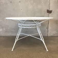 Woodard Patio Tables by Vintage Russell Woodard Patio Set U2013 Urbanamericana