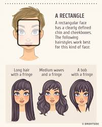 hair styles with ur face in it how to choose the best hairstyle to match your face