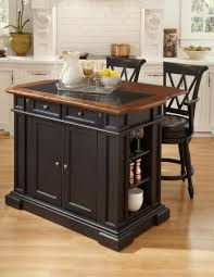 red oak wood unfinished shaker door portable kitchen island with