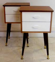 bedroom furniture solid nighstand with shelf and