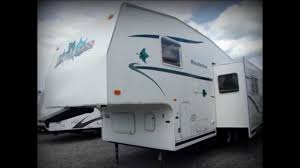 used 2001 fleetwood wilderness gl 275j fifth wheel rv camper for