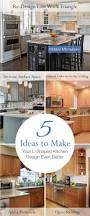 kitchen designthe work triangle kitchen layout most popular
