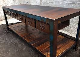 industrial tables for sale the junk map edgy industrial furniture and vintage plumbing awesome
