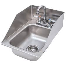 Deep Stainless Sink Advance Tabco Di 1 5sp Drop In Stainless Steel Sink With Side