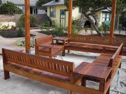 outdoor redwood patio furniture wood projects pinterest