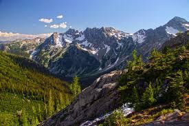 Entiat mountains glacier peak wilderness washington north