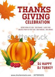 happy thanksgiving retro card fully editable stock vector 327905021