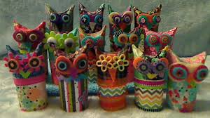 how to make owls from toilet paper rolls youtube