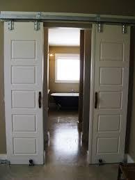 bathrooms design beautiful sliding barn door bathroom privacy