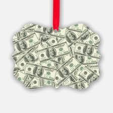 100 dollar bill ornament cafepress