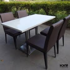Narrow Bar Table Restaurant Table China Modern Design New Dining Table Set Modern