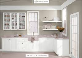 behr castle path and pure white for cabinets home improvement