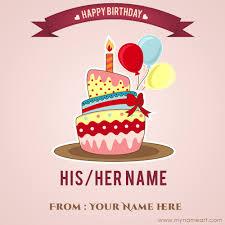 chocolate birthday cake image edit with boss name wishes