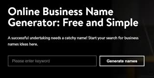 26 free business name generators to find the best brand names