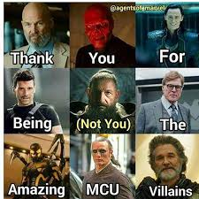 Villain Meme - mcu villains meme quirkybyte