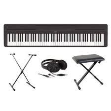 fnac siege piano numérique yamaha p45 casque stand siège noir top prix