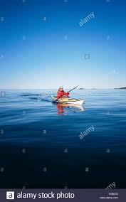 blue boat canoe clear sky color image freedom kayak life on sea