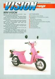 motor scooter guide manuals and brochures